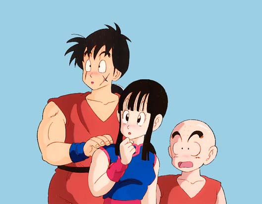 Yamucha and ChiChi?  Wow...